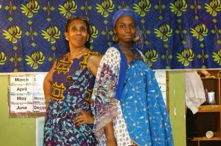 Mama Noni and Sister Arielle